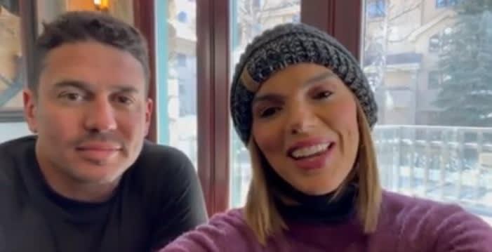 A sus 47 años de edad, Rashel Díaz anuncia que está embarazada esposo Carlos García