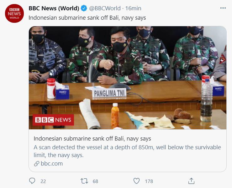 encuentran submarino indonesio
