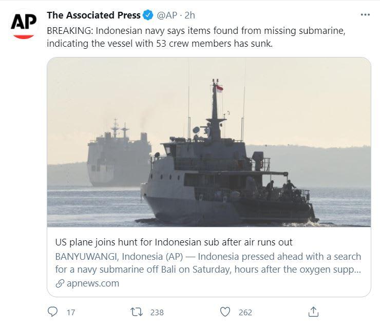 submarino hundido
