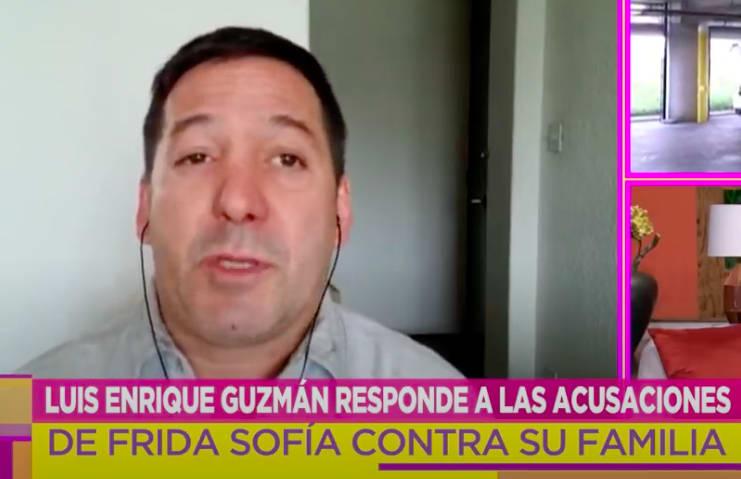 Luis Enrique Guzmán arremetió contra Frida Sofía (IG)