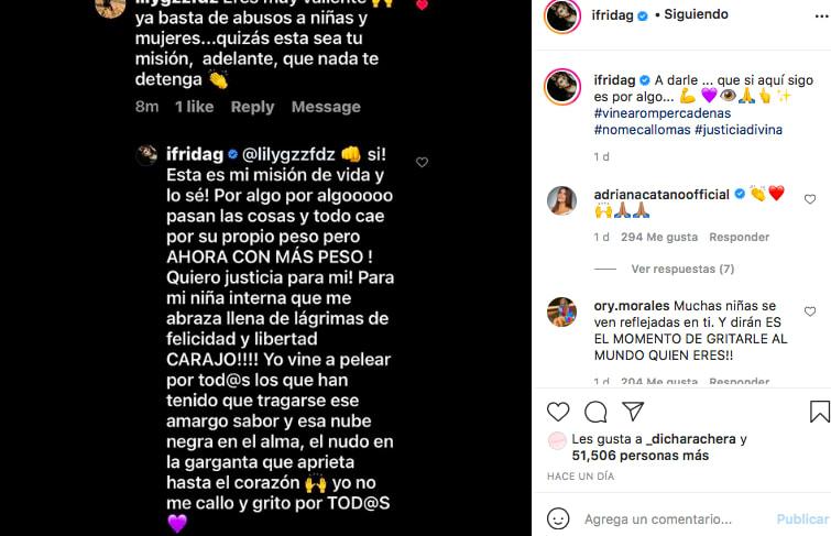 La hija de Alejandra Guzmán encontró 'su misión' (IG)