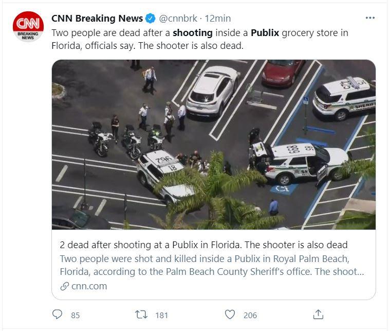 tiroteo en Publix