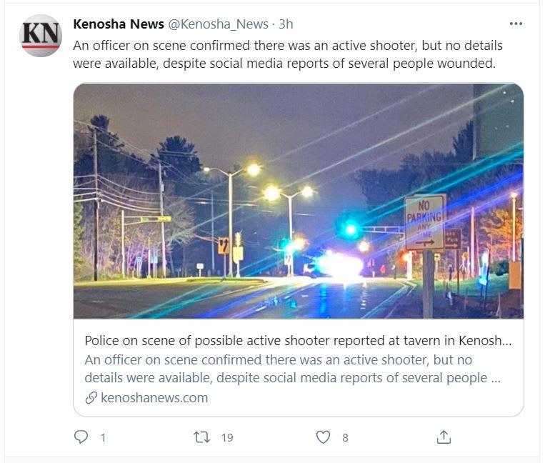 tiroteo en Kenosha