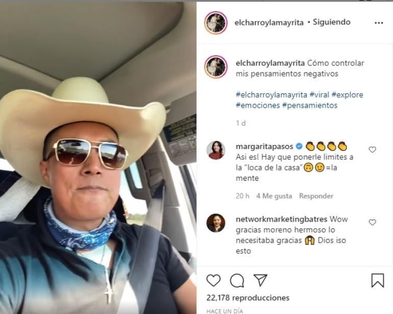 El Charro confiesa que tuvo pensamientos negativos pero logró controlarlos Erik Roberto La Mayrita