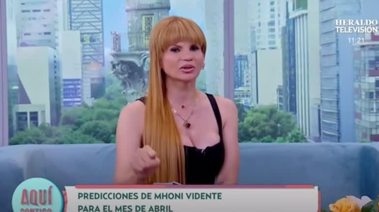 """Mhoni Vidente revela que Dios y la Virgen María """"descenderán sobre nosotros"""""""