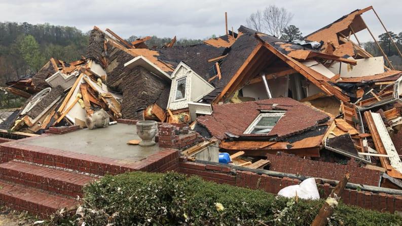 Tornados y tormentas