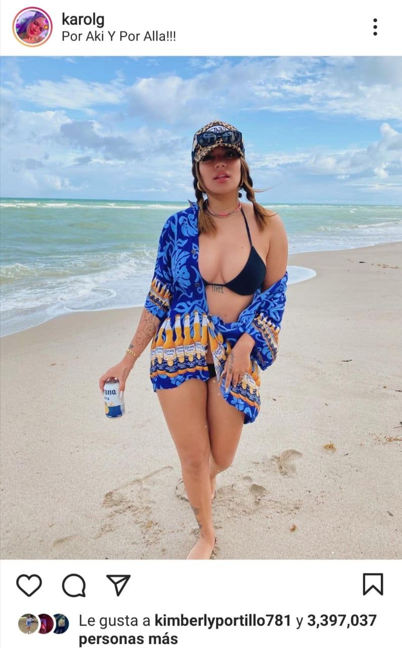 Karol G bikini JLo