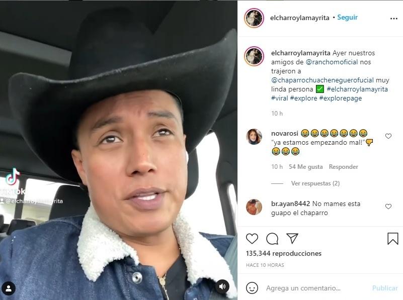 Erik Roberto El Charro y la Mayrita pierde esposa 3