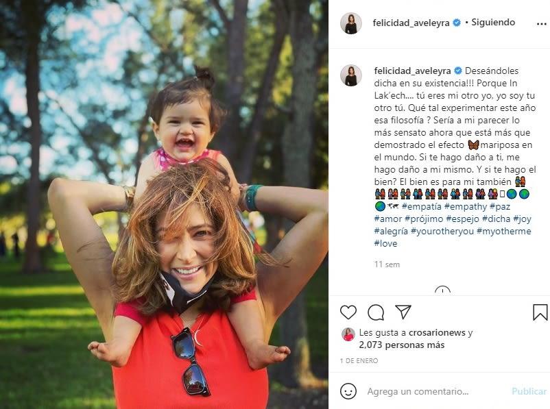 Felicidad Aveleyra embarazo hijo conductora de Telemundo 3