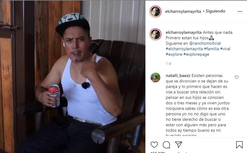 Tras destapar que su papá le fue infiel a su mamá, El Charro muestra foto y le pide perdón Erik Roberto La Mayrita