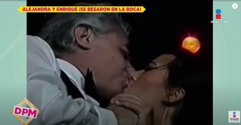 Tras las acusaciones de Frida Sofía, resurge video de Enrique y Alejandra Guzmán dándose un beso en la boca