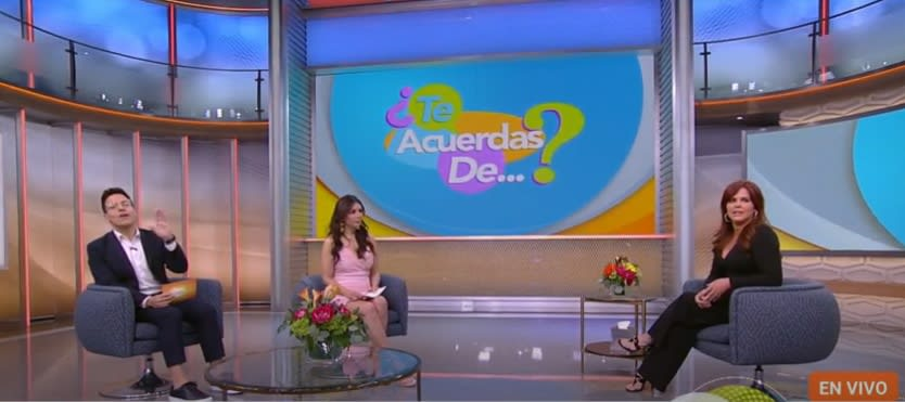 María Celeste returns to Univisión and does not receive the best of welcomes