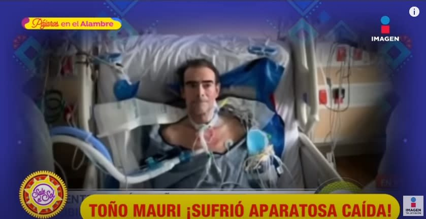 Toño Mauri suffers a terrible fall while recovering from COVID-19