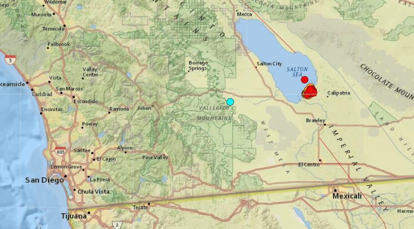 Serie de sismos, incluyendo uno de magnitud 5.3, sacuden California
