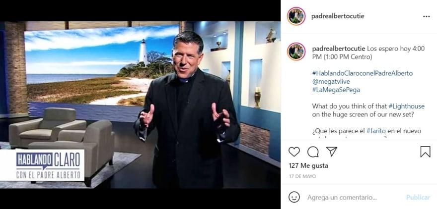 El Padre Alberto pide ayuda urgente para niño con leucemia