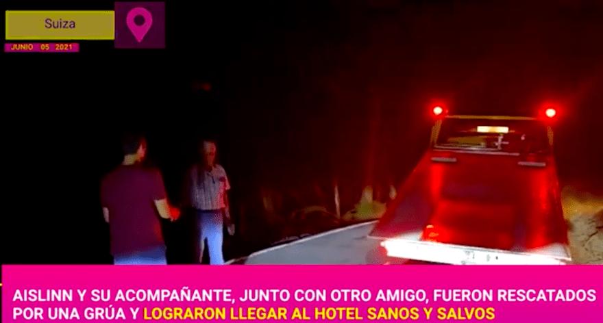 La hija de Eugenio Derbez tuvo un accidente de carretera