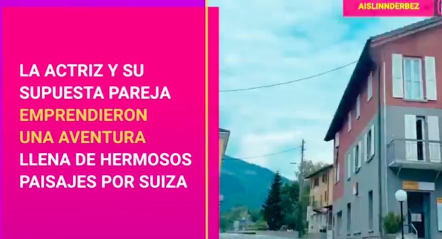 Hija de Eugenio Derbez se fue de viaje