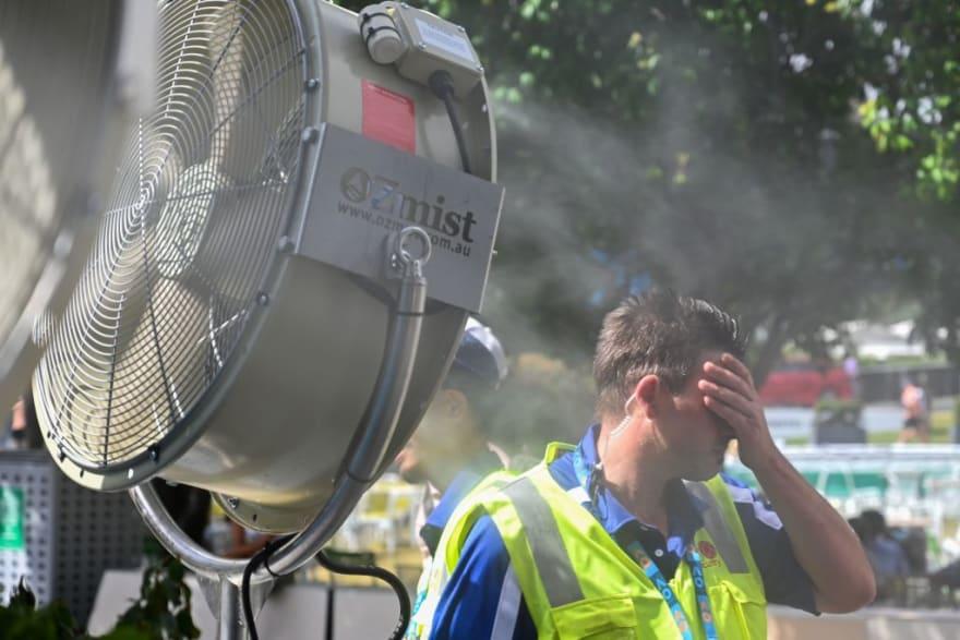 advertencia de calor