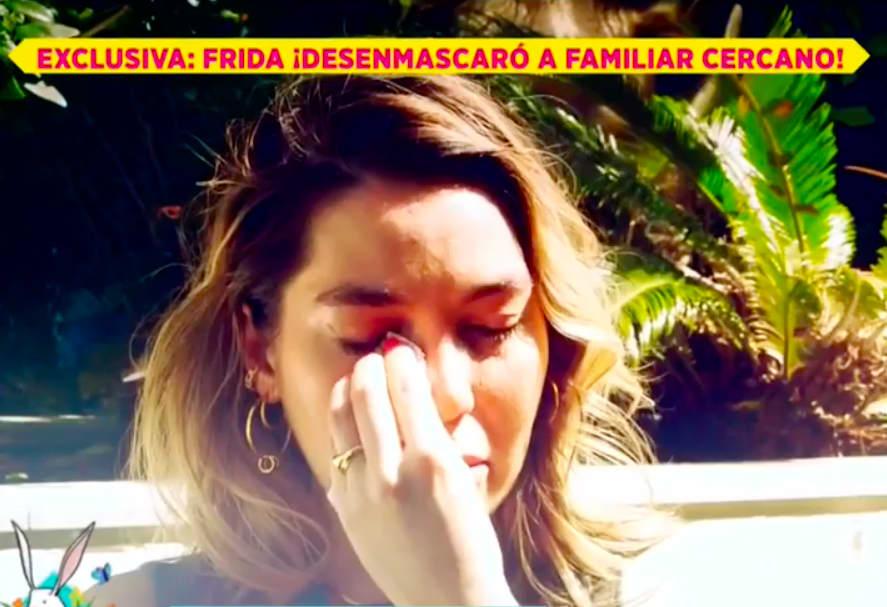 Frida Sofía llora por lo que supuestamente le hizo Enrique Guzmán (IG)