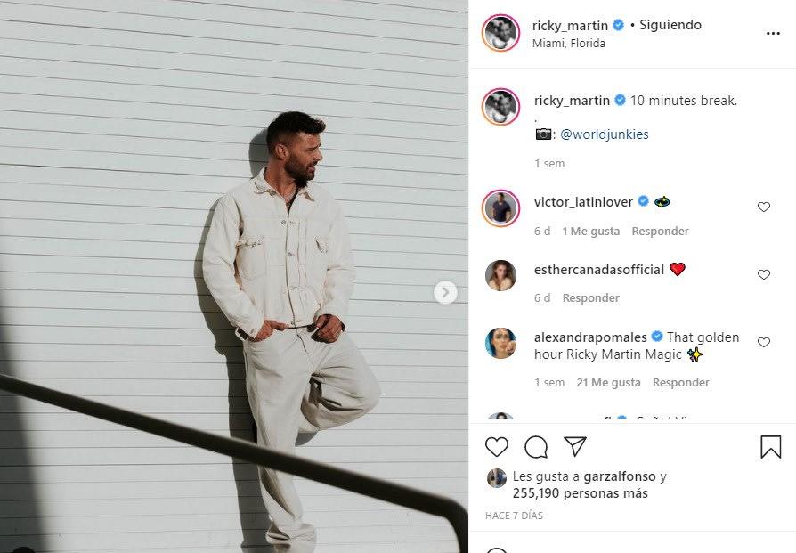 Aseguran que Ricky Martin le huyó a Enrique Guzmán
