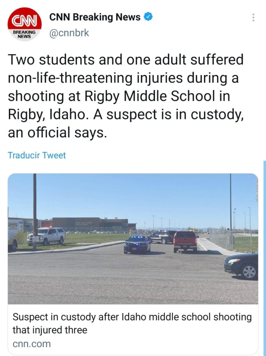Tiroteo Idaho, Escuela secundaria Rigby
