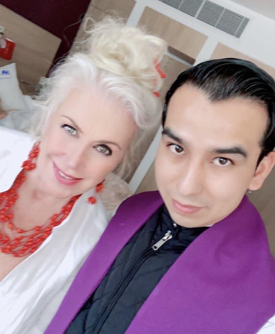Laura Zapata falso sacerdote