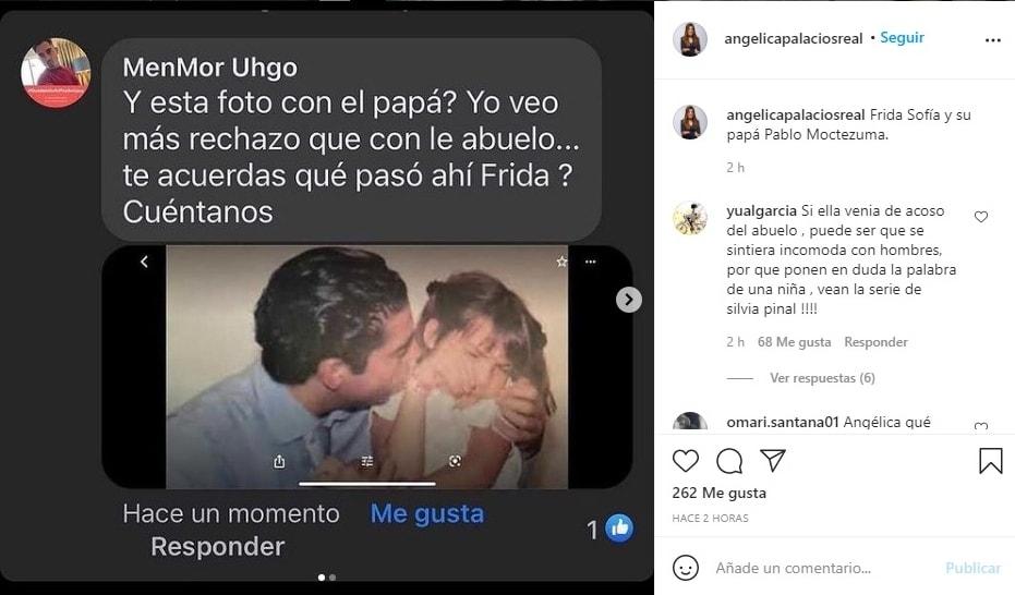 hija Alejandra Guzmán Frida Sofía rechazando padre Pablo Moctezuma