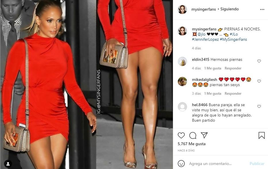 Jennifer López JLo vestido aberturas sin ropa interior 2