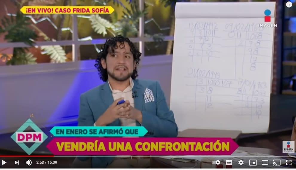 Numerólogo Alejandro Fernando predice futuro familia Guzmán 3