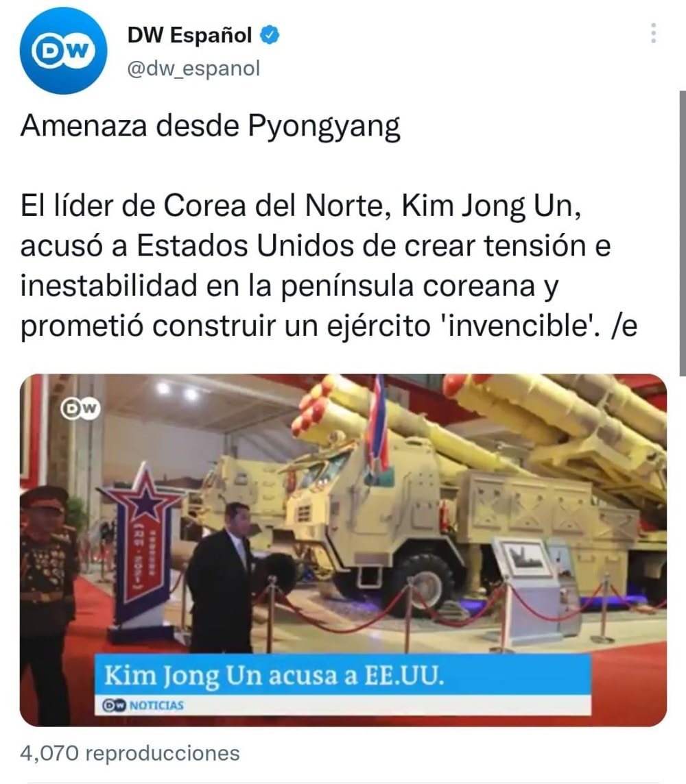 Kim Jong Un 'estalla' contra Estados Unidos