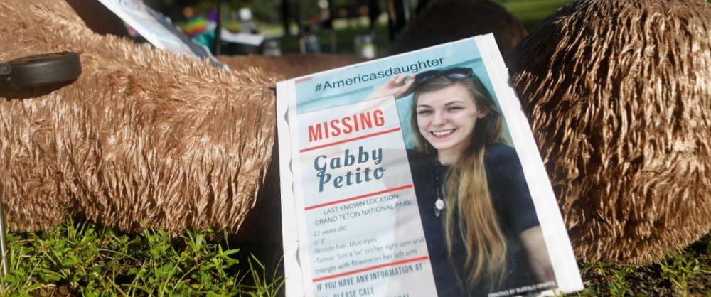 Novio de Gabby Petito fue visto comiendo en un restaurante tras su muerte