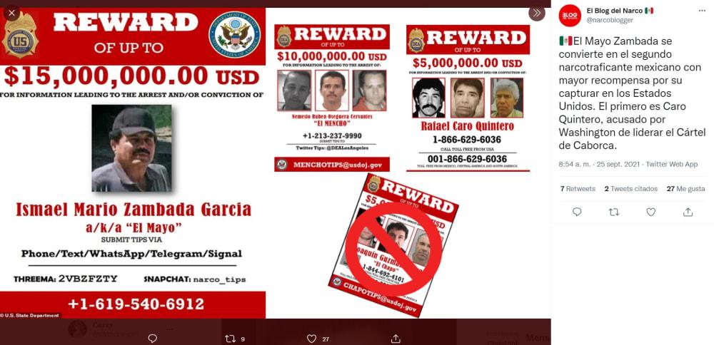 El socio de 'El Chapo' Guzmán