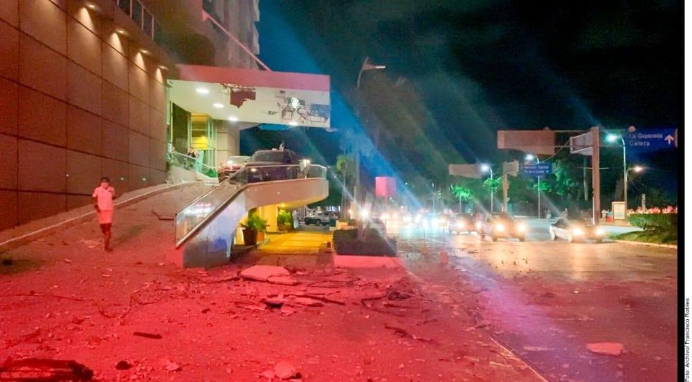 Earthquake caused serious damage