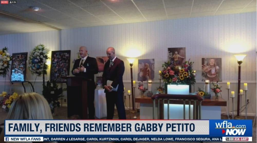 Gabby Petito funeral discurso: En honor a Petito