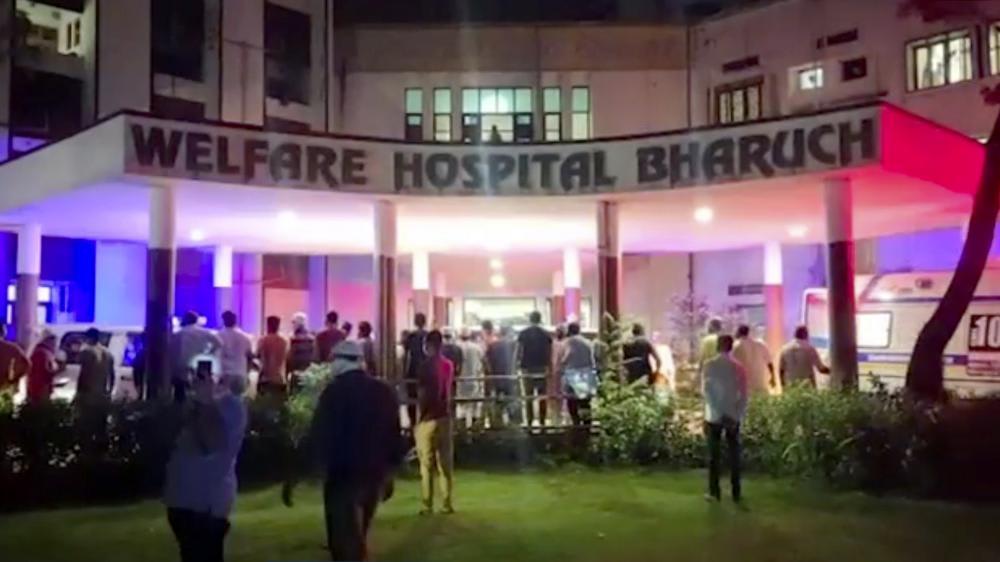incendio en hospital de India