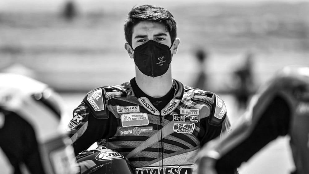 ¡Tragedia! Muere a los 15 años el motociclista español Dean Berta Viñales (FOTOS)