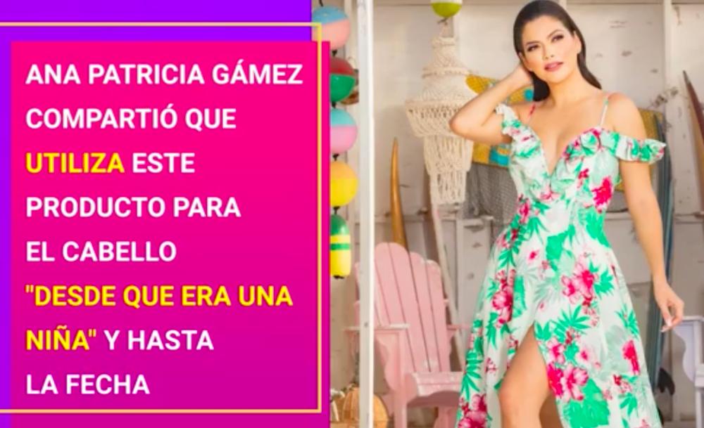 Ana Patricia Gámez belleza