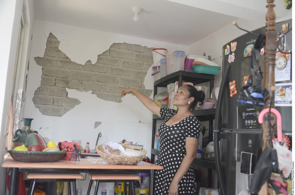 Due to earthquake, they declare disaster in Guerrero