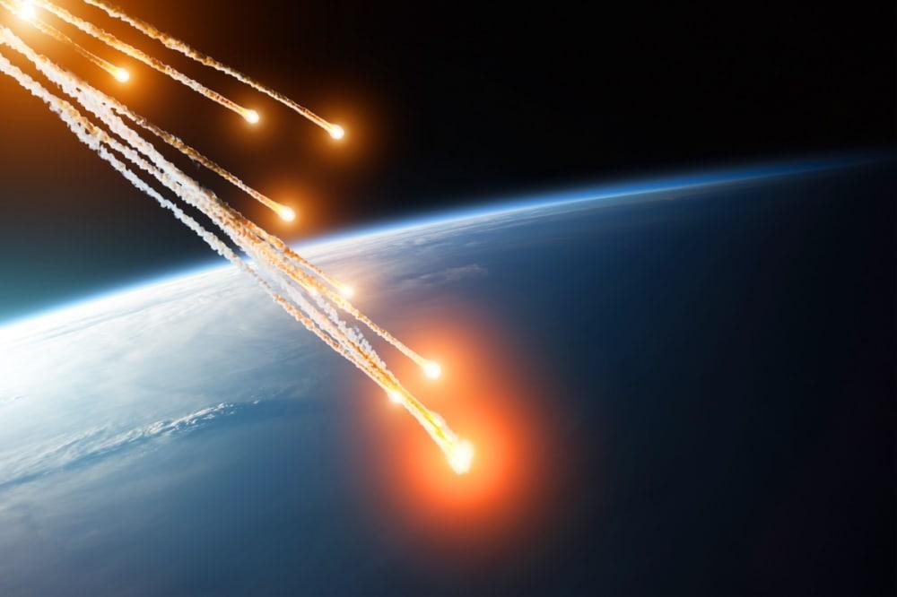 Varios asteroides rozarán Tierra