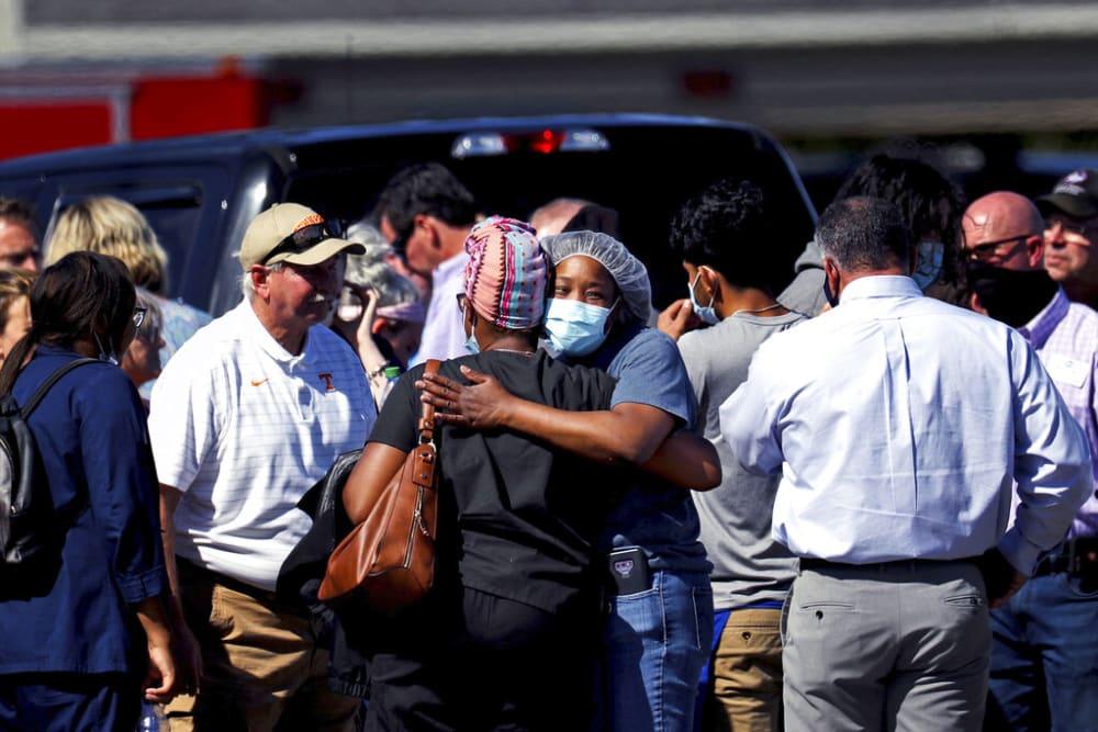 Se encontraron a varias personas con heridas de bala tras el tiroteo