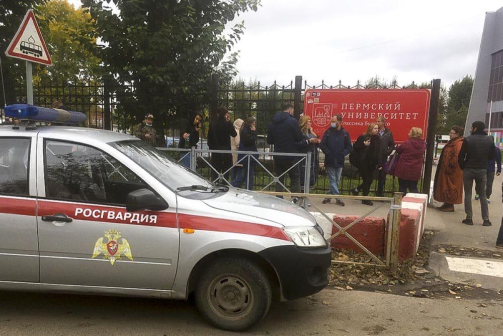 Tiroteo en universidad de Rusia deja al menos 8 muertos (FOTOS)