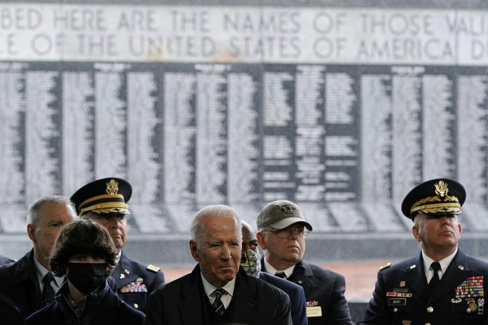 Memorial Day Biden