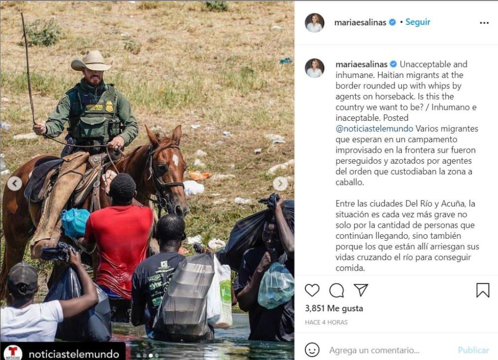 María Elena Salinas declaraciones: Una situación cada vez más grave
