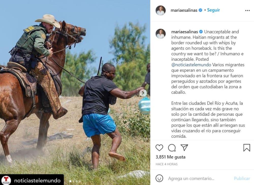 """María Elena Salinas declaraciones: """"Inhumano"""""""