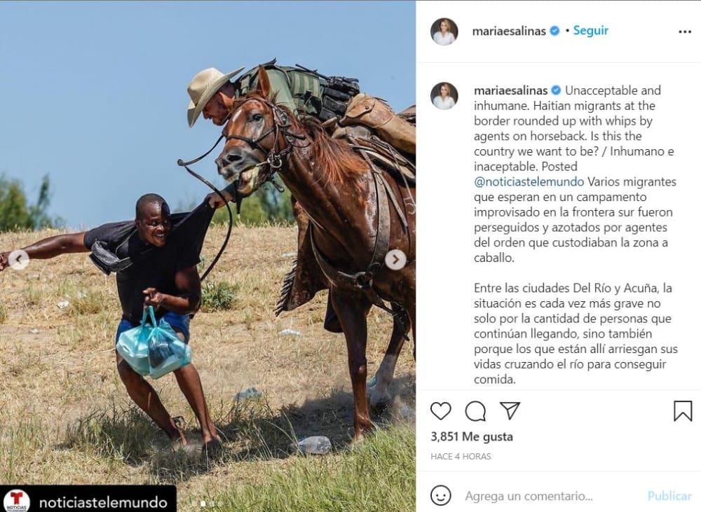 María Elena Salinas declaraciones: Inaceptable