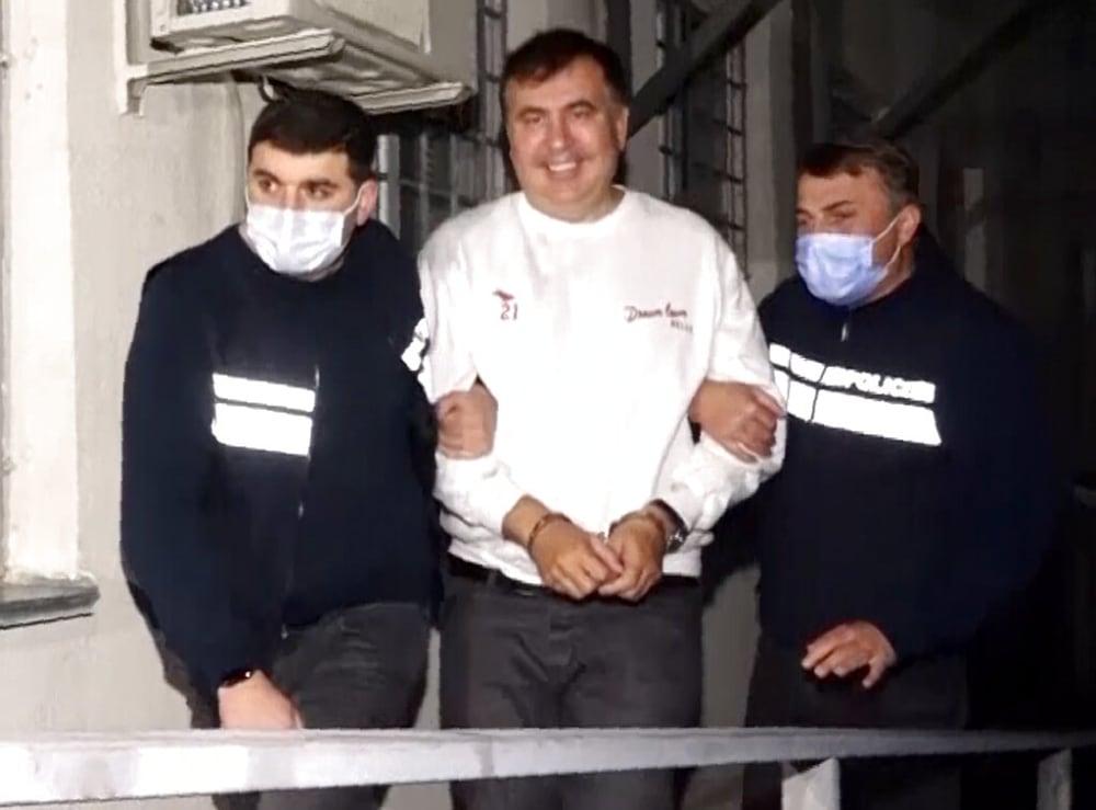 Georgia arresta al expresidente Mikheil Saakashvili