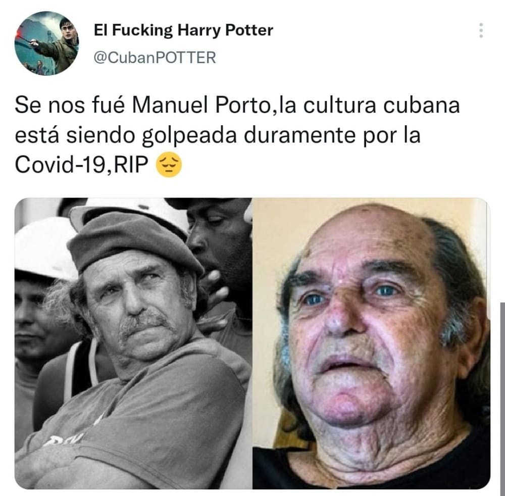 Cuban actor Manuel Porto dies after fighting COVID-19