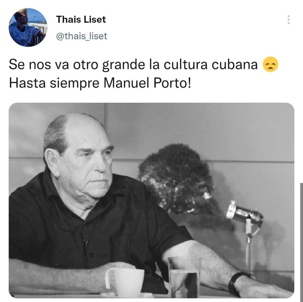 Muere reconocido actor Manuel Porto