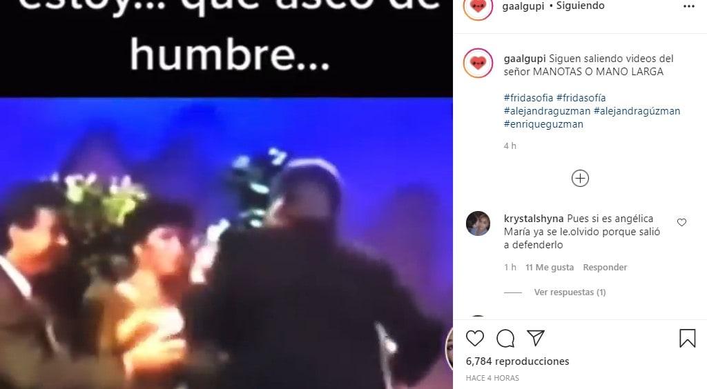 Aparece otro video de Enrique Guzmán, ahora queriendo aprovecharse de Angélica María