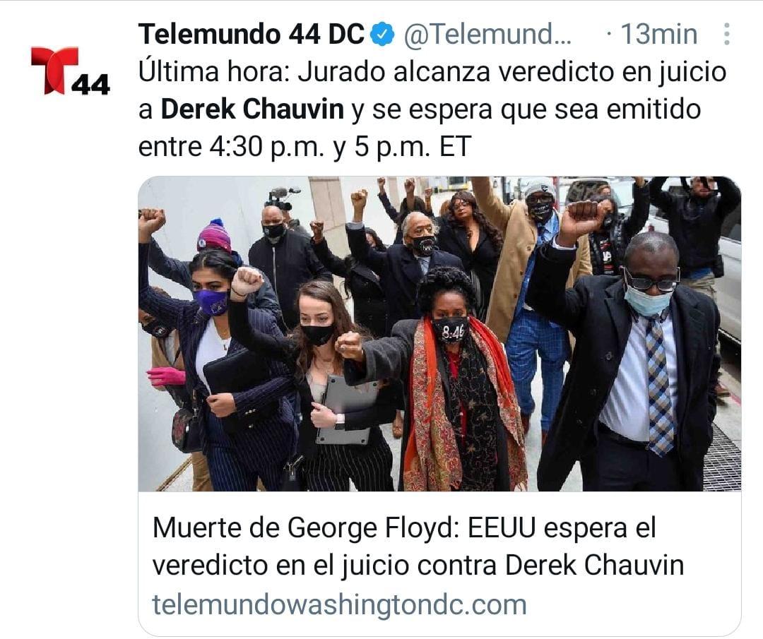 Derek Chauvin Veredicto George Floyd
